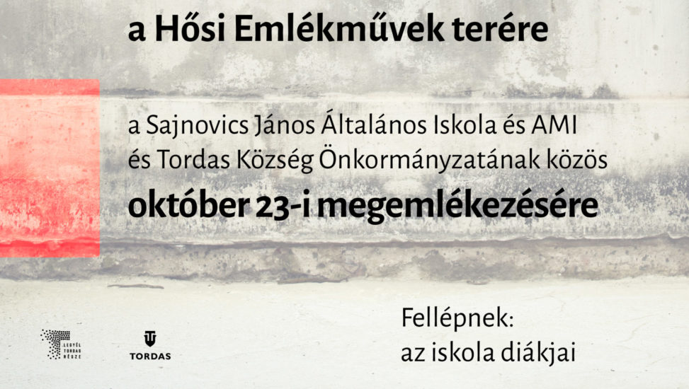 Október 23-i megemlékezés